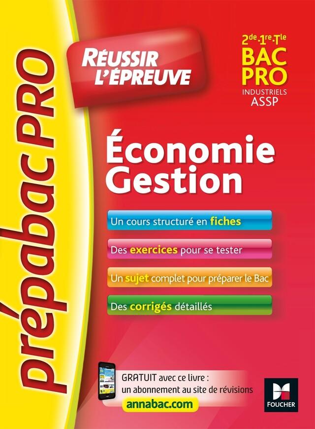 PrepabacPRO - Réussir l'épreuve - Economie-Gestion - Entrainement et révision - Marie-Madeleine Piroche, Sylvie Charreau - Foucher